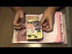 I adore this Wallflower Junk Journal - YouTube. It's very inspiring !
