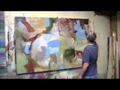 andy morris and abstract painting - Bing Videos Painting Videos, Art Techniques, Abstract Art, Canvas, Tela, Canvases