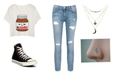 """""""Day in town- city style"""" by shannonridge on Polyvore featuring Current/Elliott, Converse and Charlotte Russe"""