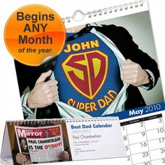 Personalised Best Dad Calendar  from Personalised Gifts Shop - ONLY £9.99