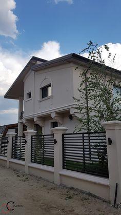House Fence Design, Modern Fence Design, Balcony Railing Design, Wardrobe Design Bedroom, Boundary Walls, Entrance Decor, Fence Art, Modern Farmhouse Exterior, Ideal Home