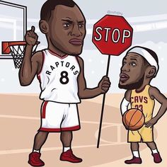 Hot up in the 6 right nowww! Insane game #wethenorth