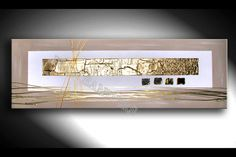 Acrylmalerei - JEAN SANDERS - 150x50x4cm-- STRUKTURBILD - ein Designerstück von JeanSanders bei DaWanda