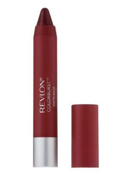 Revlon Colorburst Matte Balm in Standout. It is a perfect true, blue-based red that looks amazing with fair skin.