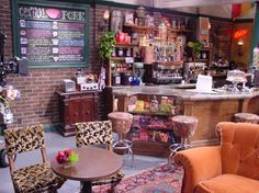 Central Perk on TV Show Friends 2