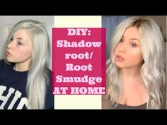 How to do a Shadow Root or Root Smudge at home! I hope this helps you get the hair of your dreams! Blonde Hair At Home, Blonde Hair With Roots, Dark Hair, Dyi Hair Color, Bold Hair Color, Hair Colors, Blonde Color, Root Smudge Blonde, Shadow Root Blonde