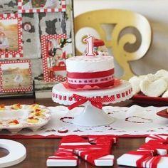 Red White and Raggedy Ann Party {Raggedy Ann}