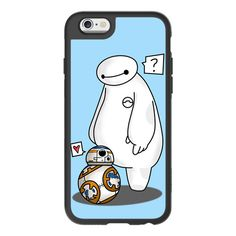iPhone 6 Plus/6/5/5s/5c Case - Baymax meets BB8 ($40) ❤ liked on Polyvore featuring accessories, tech accessories, iphone case, apple iphone cases, iphone hard cases and iphone cover case