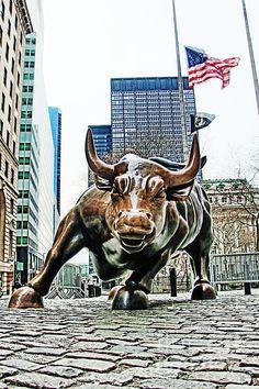 Download Wall Street Bull Mobile Wallpaper Mobile Toones Arts