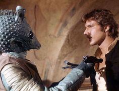 Greedo and Han Solo