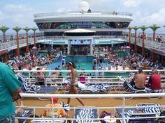 Laying out by the pool (my idea of a perfect Norwegian Cruise vacation)