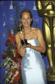 """Helen Hunt was awarded Best Actress for (""""As Good As It Gets"""") in 1997 Hollywood Icons, Hollywood Stars, Hollywood Actresses, Actors & Actresses, Academy Award Winners, Oscar Winners, Academy Awards, Sag Awards, Oscar Films"""