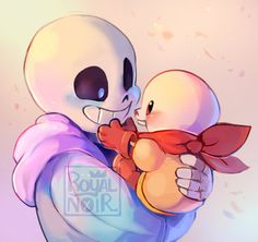 They're so cute   ----  Your cheeks are like marshmallows big bro! Lemme touchem!  You're the marshmallow here, kid!  and then one day papyrus hits puberty