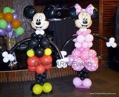 micky mouse con globos - Buscar con Google