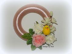 Design by Suzi: Stužkový venček (Springspiration Ribbon, Easter, Wreaths, Design, Home Decor, Tape, Decoration Home, Door Wreaths, Room Decor