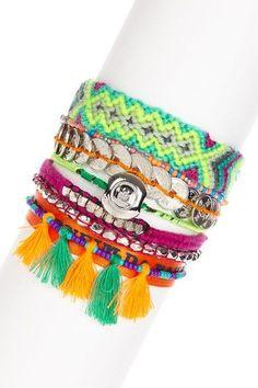 pretty string bracelets