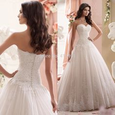 Vintage Corset Wedding Dresses