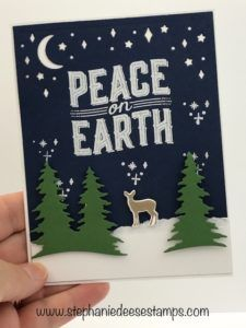 Stampin' Up! Carols of Christmas  card by Stephanie Deese @ www.stephaniedeesestamps.com