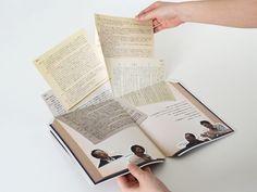二連コンセプトブック  制作年:2013 クライアント:東京都製本二世連合会 技術名:のり綴じ、抜き、デザイン