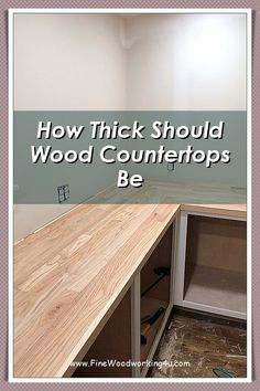 Looking To Install Some Countertops Into Your Home With a More Natural Touch? You Can Read Our DIY Wood Countertops Guide Here.