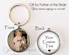 FATHER of the BRIDE gift CUSTOM Large van NowThatsPersonal op Etsy