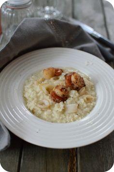 Ce risotto est né après une soirée très Lagostina au Bon Marché afin de découvrir quelques gammes de cette jolie marque. La soirée fût sous forme d'atelier culinaire, on a plus passé le temps à déguster les plats qu'à cuisiner car le chef ce soir-là c'était...
