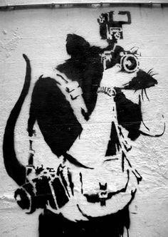 banksy bristol graffiti paparatzzi