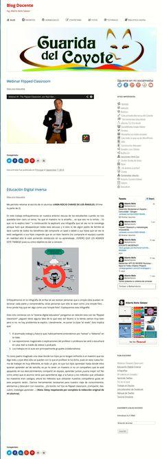 La nueva cara de mi Blog Docente para cumplir con la curación de contenidos en la escuela. (PLE) #RDEMX