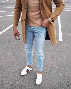 50 Ideas De Moda Con Jeans Para Hombres Winter Outfits, Casual Outfits, Fashion Outfits, Tight Jeans Men, Normcore, Mens Clothing Styles, Casual Chic, Gentleman, Streetwear