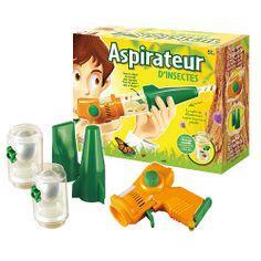 "**OK**  Aspirateur d'insectes - Buki - Toys""R""Us (20€)"