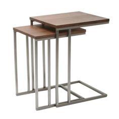 Denali Walnut Tables - Set of 2