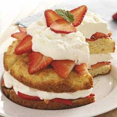 Need a real strawberry shortcake recipe like this one--not one that uses pound cake or angel food cake!