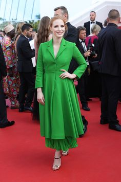 Cannes 2017 Style File: Jessica Chastain Goes Offbeat in Dior Couture and Givenchy Couture | Tom + Lorenzo
