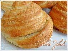 sarığı burma poğaça Croissants, Beignets, Tart Recipes, Cooking Recipes, Apple Tart Recipe, Savory Pastry, Recipe Mix, Bread Cake, Turkish Recipes
