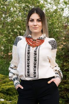 Ukraine, from Iryna Ethnic Fashion, Womens Fashion, Embroidered Clothes, Modern Embroidery, Folk Costume, Blouse Designs, Going Out, Fashion Dresses, Style Inspiration