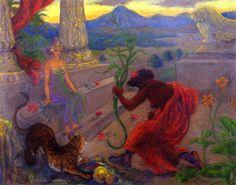 Paul Ranson - Hommage (1900)