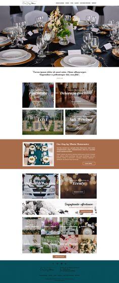 One Day   Menu strona www, website, template, planowanie, ślub, wesele Drupal, Wedding Planner, Wedding Day, Photoshop, Website, Wedding Planer, Pi Day Wedding, Marriage Anniversary, Wedding Planners