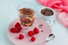 Peanut Butter and Fudge Parfait Recipe – Kayla Itsines but with vegan cream cheese and yogurts! Nom!!