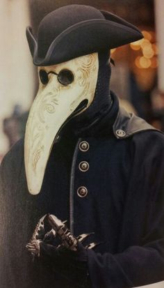 Plague Doctor - this is what I want to be this year.
