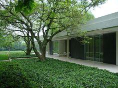 AD Classics: Miller House and Garden / Eero Saarinen | ArchDaily