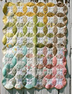 So many quilts I want to try! The colors in this one are blowing my socks off.