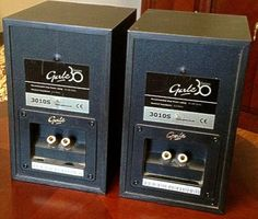 Gale 3010s speakers mini monitor of high quality with high ancillary equipment