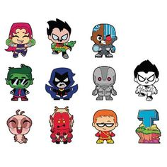 Monogram Introduces Teen Titans Go! Figural Keychains!