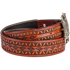 Signature Red Stitch Reyado Tapered Belt