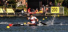 Amazing Canoe Sprint TALENT!  Tom Liebscher Germany!