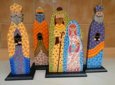 artesanías, Adornos de Navidad, Colombia, Bogotá- artesanum com Christmas Nativity, Christmas Ornaments, Nativity Advent Calendar, Auction Projects, Birth Of Jesus, Holy Night, Mexican Art, Tole Painting, Christmas Projects