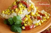Lending a extra little southwestern flavor, the cilantro and cumin spice up this chicken and veggies dish and are sure to please everyone around the supper table!