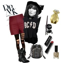 """Rock this dark night"" by reemtaha on Polyvore"