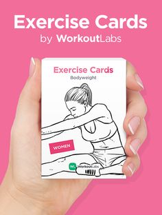 Must have for anyone into fitness! Available at https://Workoutlabs.com/exercise-cards