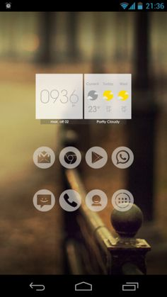 """Primo appuntamento con la rubrica """"Personalizzazione Android"""", dove verranno pubblicate schermate della homescreen Android personalizzate con vari widget, applicazioni, e icon pack."""